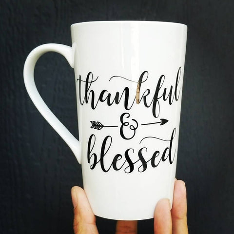 Thankful & Blessed | Ceramic Coffee Mug