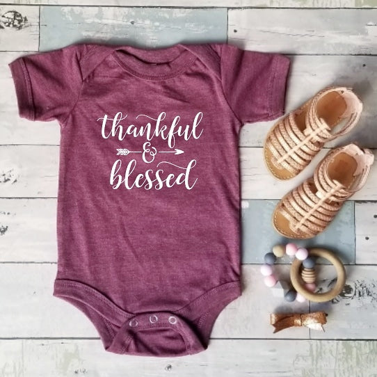 Thankful & Blessed | Heather Maroon