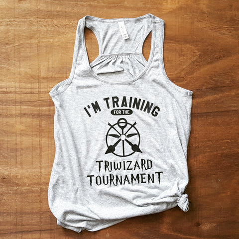 Training for the TriWizard Tournament Tank | Grey