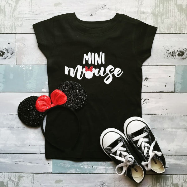 Mini Mouse | Black