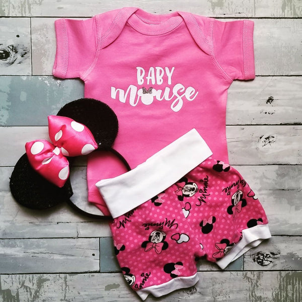 Baby {girl} Mouse | Pink