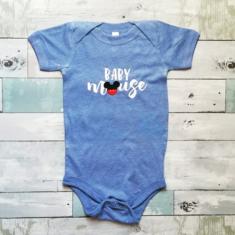 Baby {boy} Mouse | Blue
