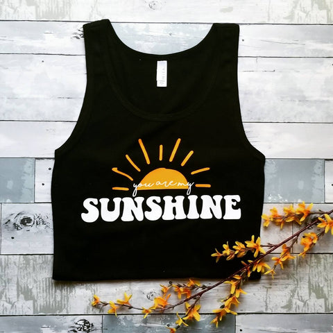 You are my Sunshine | Black