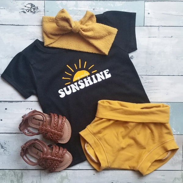 My only Sunshine | Black