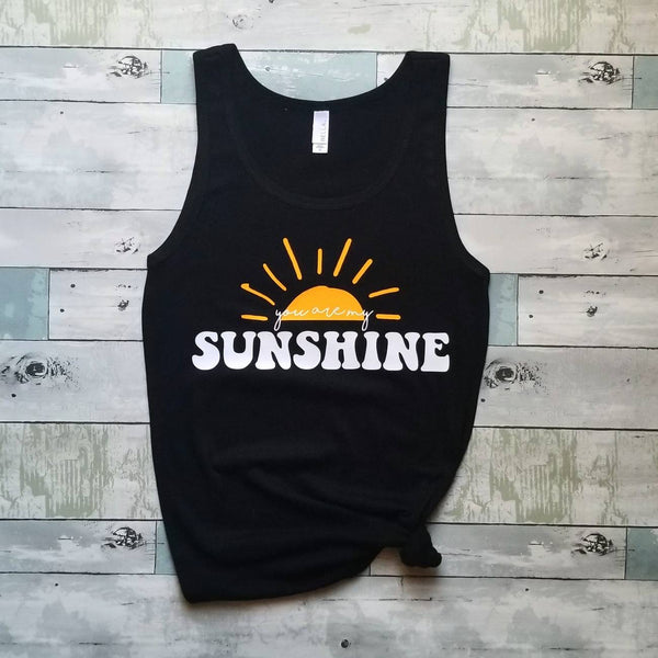 You are my Sunshine | Mama & Kiddos Set | Black
