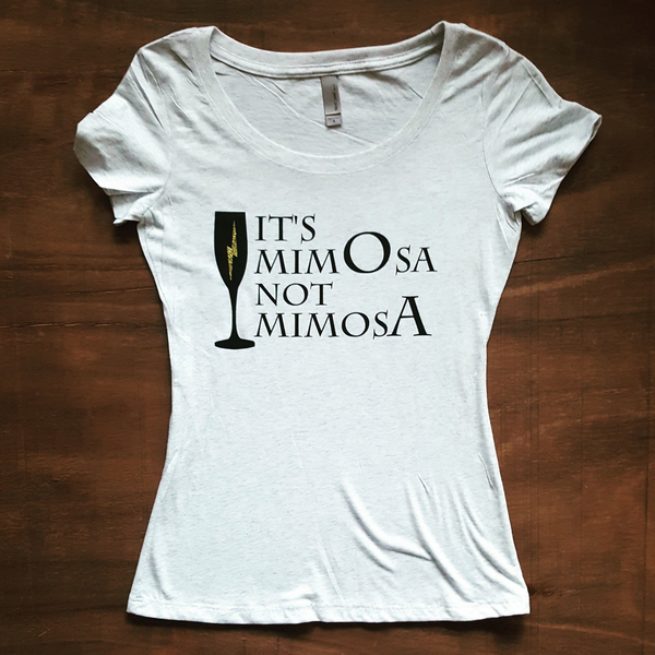 It's MimOsa not MimosA | White
