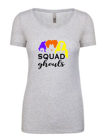 Squad Ghouls Tee | Heather