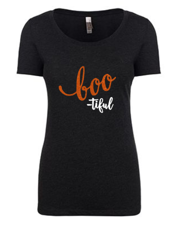 Boo-tiful Tee | Black