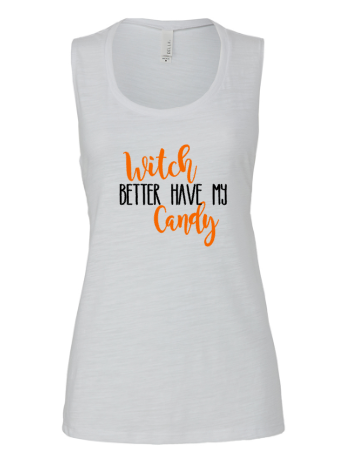 Witch better have my Candy Tank | White