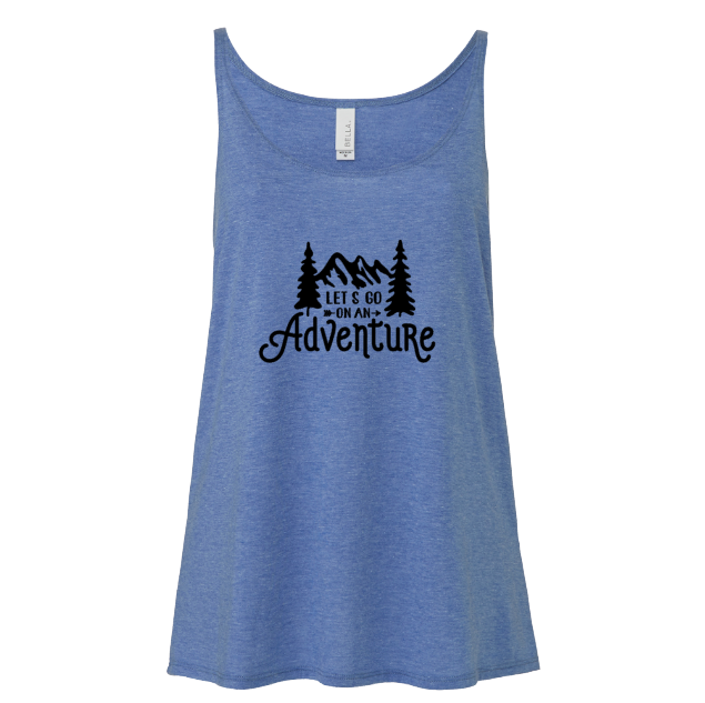 Let's go on an Adventure | Blue Triblend