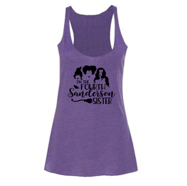 I'm the Fourth Sanderson Sister Tank | Triblend Purple