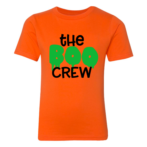 Boo Crew Youth Tee | Orange