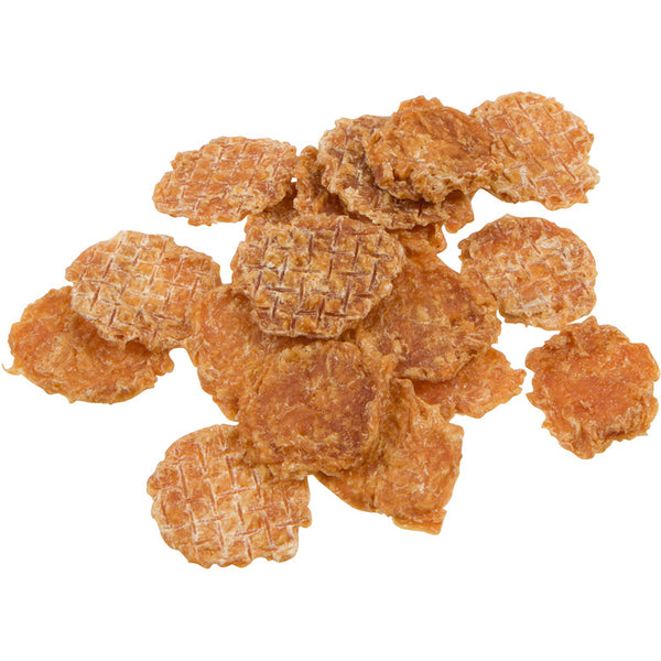 Chewbebe Chewie's Healthy Chicken Chip Jerky Dog Treats: All Natural One Ingredient Dehydrated Grain Free