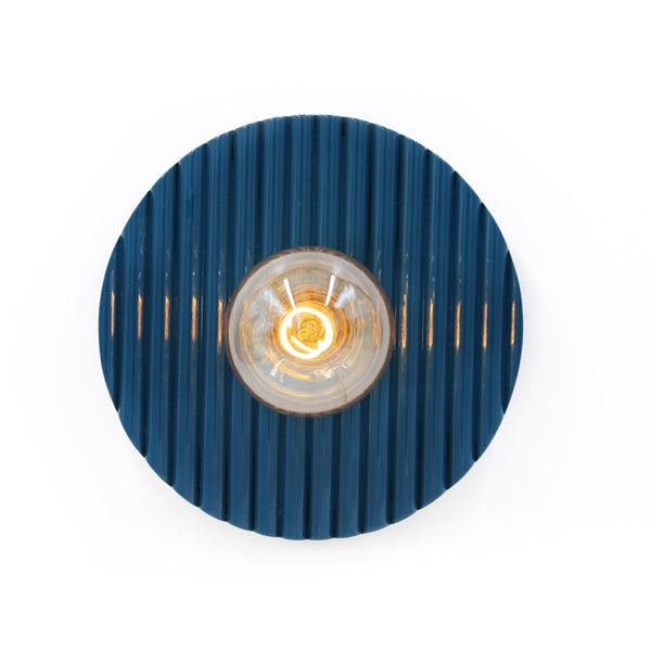 Designed by Maison Sarah Lavoine Riviera Wall light take inspiration from the Italian style of the 50s, their rounded lines and vibrant colours will illuminate your walls.
