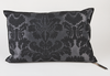 Cushion Versailles satin and velvet