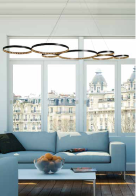Atelier Le Deun's simple geometry lighting are designed and manufactured by a highly skilled team of artisans in the heart of Paris.