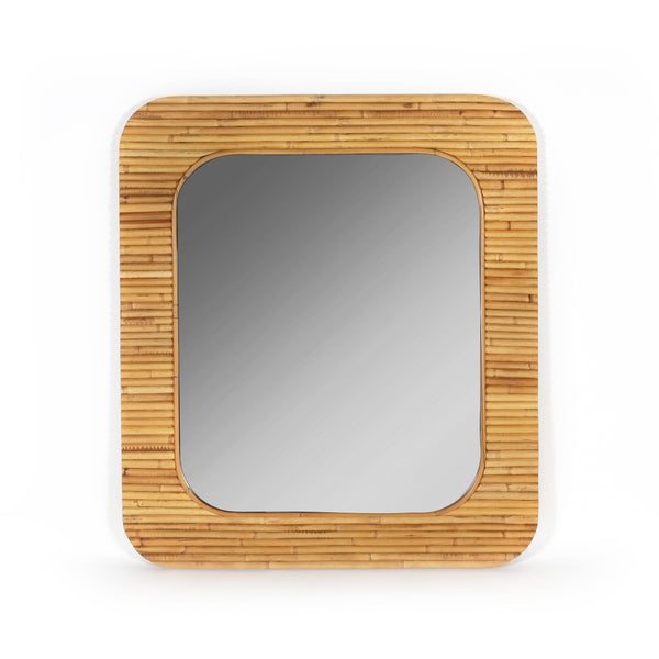Designed by Maison Sarah Lavoine, this elegant rattan mirror brings a fresh and elegant take on vintage.