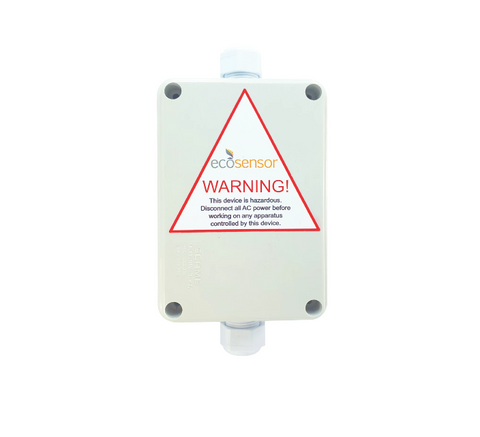 Eco Sensor 1MS-RFB16A: Multi Purpose IP56 Rated 16A HF Motion Sensor