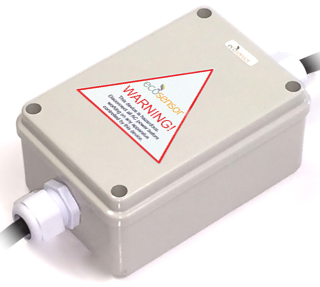 Eco Sensor ES608B-SB: 360° High Frequency Motion Sensor in IP65 box