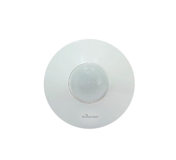 Eco Sensor ES806: 360° Dual Technology PIR Ceiling Mount Motion Sensor with Microphone