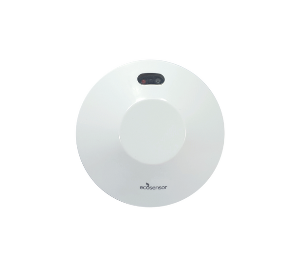 Eco Sensor ES807: 360° Dual Technology High Frequency Ceiling Mount Motion Sensor with Microphone