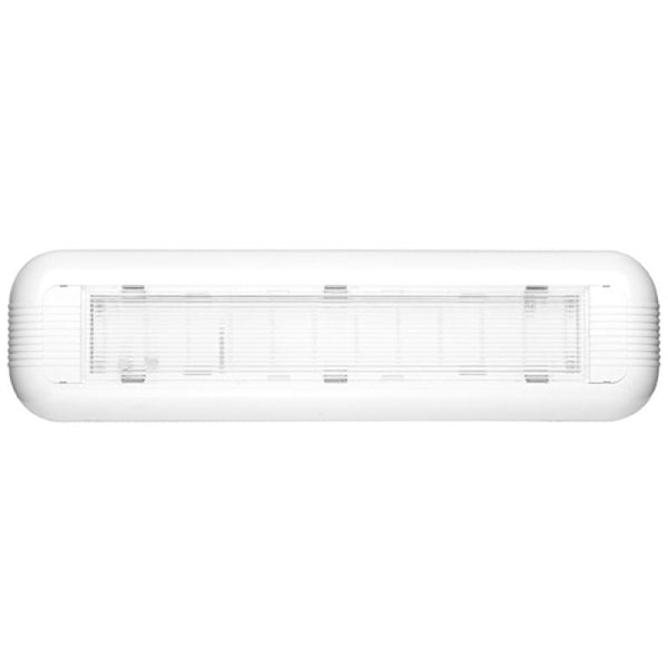 Na-de 10536: Non-Maintained Emergency LED Wall or Ceiling Light - Eco Sensor