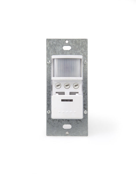 Eco Sensor ES902: 180° Dual Technology Wall Switch Motion Sensor with Microphone - Eco Sensor
