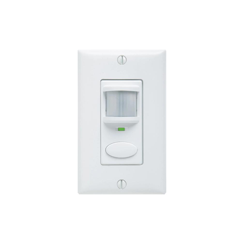 SensorSwitch WSD PDT: 180° Dual Technology Wall Switch PIR Motion Sensor