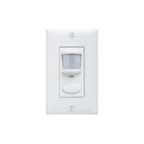 Sensor Switch WSD: 180° Wall Switch PIR Motion Sensor