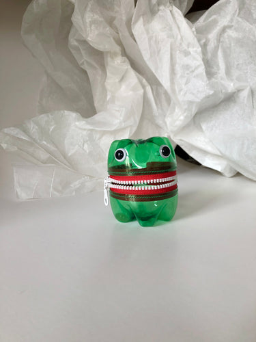 MONSTER PET Bottle Purse Happy Red