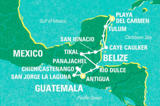 Essential Central America, Playa Del Carmen to Antigua - 17 Days