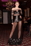 Leather Flower Embroidery Mesh Haute Couture Atelier Set