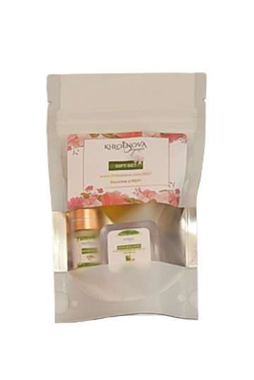 KHLOÉNOVA CBD Organic Skin Care REP Set