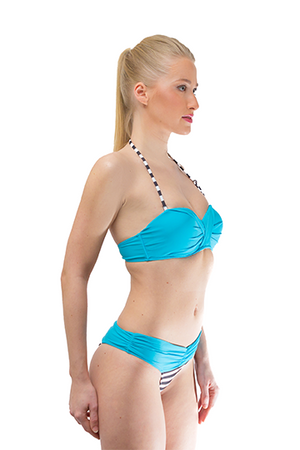 Halter Twisted Bikini Set