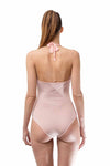 Breathable Nude One Piece Swimsuit