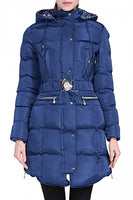 Quilted Hooded Coat Parka