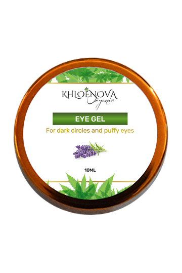 KHLOÉNOVA CBD Eye Gel & Hyaluronic Acid