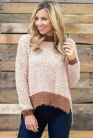 Popcorn Knit Sweater