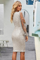 Sequin Bodycon Evening Prom Formal Dress