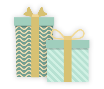 Small Stack of Gifts