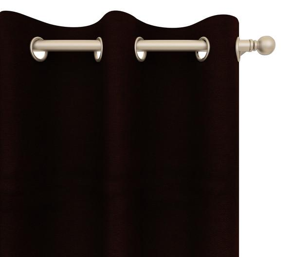 Alanzo Alarcon Drapery Panel in Carson Canvas Grommet 84