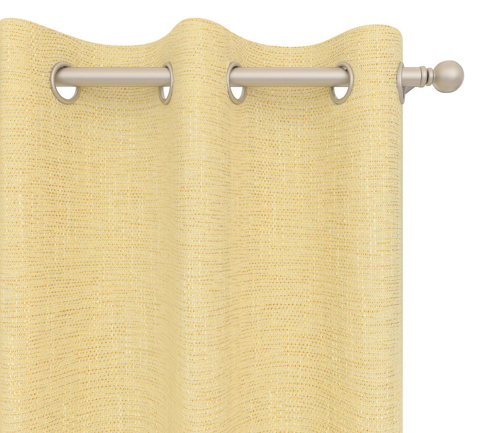 Cultured Soul Drapery Panel in Coco Grommet 84