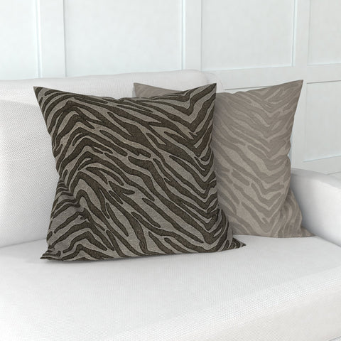 "Continuous Journey Pillow in Tiger 18"", Set of 2"