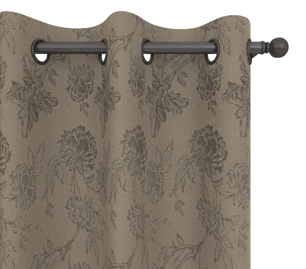 Alanzo Alarcon Drapery Panel in Carlile Flower
