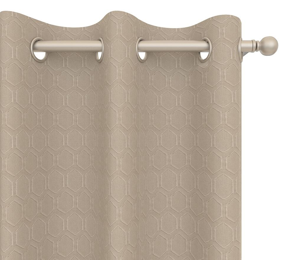 Cultured Soul Drapery Panel in Honeycomb Grommet 84