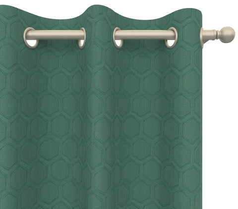 Cultured Soul Drapery Panel in Honeycomb Grommet 96