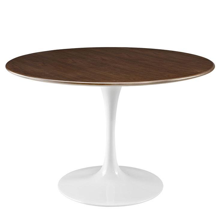 Clinton Wood Top Dining Table