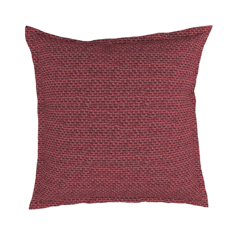 Flange Pillow in Roxanne Raffia, Set of 2