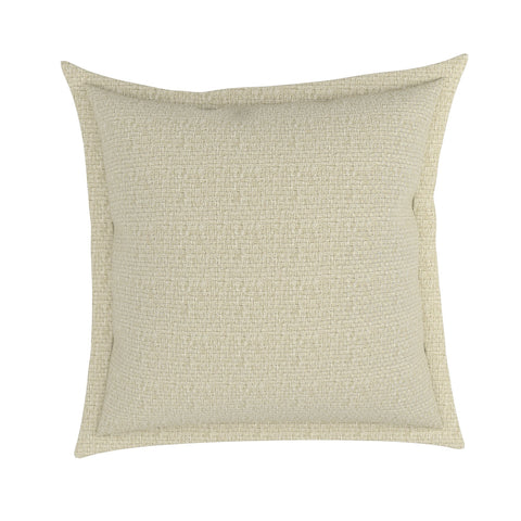 Tweed Burlap Flange Pillow Cover in Weavers