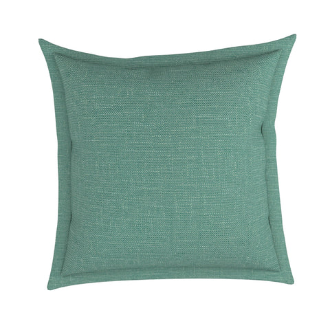 Flange Pillow in London Linen, Set of 2